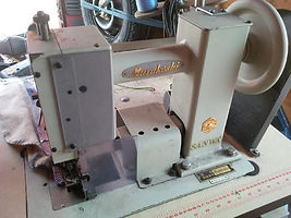 Maury Sewing Machine, industrial sewing machine, fancy stitch machine, blaketstitch machine, Sanwa blanketstitch