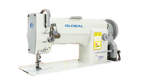 maury sewing machine, industrial sewing machine, leather machine, global wf955, global wf955 aut, automatic leather machine, global leather machine