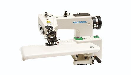maury sewing machine, industrial sewing machine, felling machine, global felling machine, global bm360, blindstitch machine
