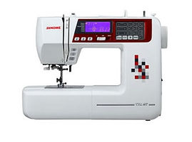 maury sewing machine, domestic sewing machine, maury janome machine, janome sewing machine, janome machine, computerised janome, computerised domestic sewing machine, janome TXL607
