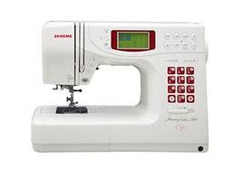 maury sewing machine, domestic sewing machine, maury janome machine, janome sewing machine, janome machine, computerised janome, computerised domestic sewing machine, janome memory craft 5900QC