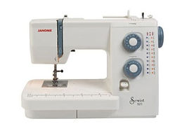 maury sewing machine, domestic sewing machine, maury janome machine, janome sewing machine, janome machine, janome 521