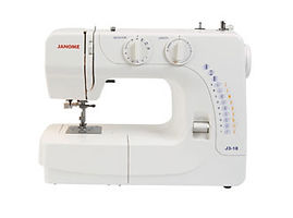 maury sewing machine, domestic sewing machine, maury janome machine, janome sewing machine, janome machine, janome j3-18