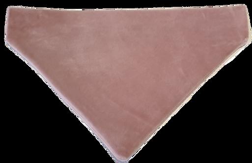 Blush Pink Velvet Bandana