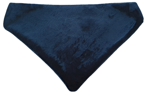 Royal Blue Velvet bandana