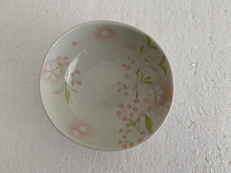 Prato Redondo Flores Pequeno - 6 peças