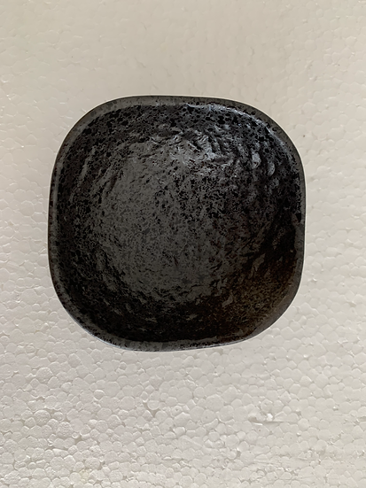 Prato Quadrado Pequeno com Pé - 6 peças