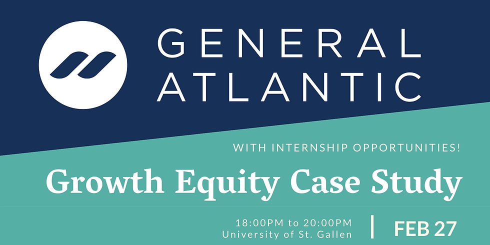 Growth Equity Case Study with General Atlantic