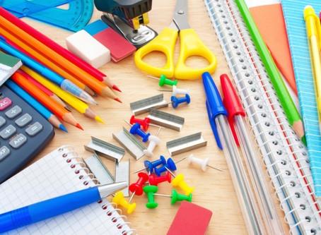 Collecte de fournitures scolaires
