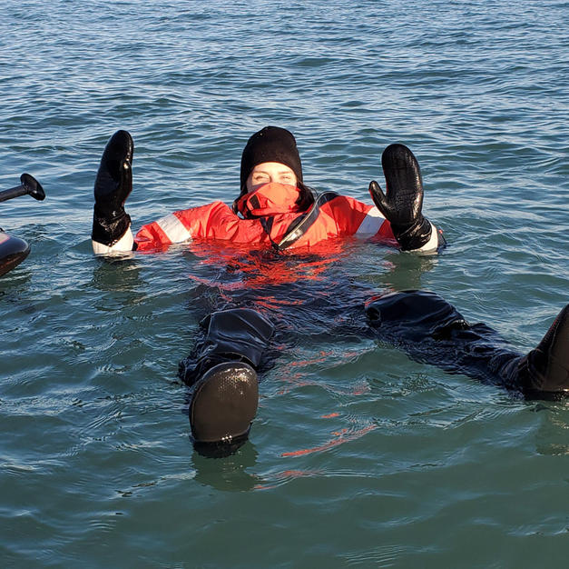 Full day and 2 hour Drysuit Rental