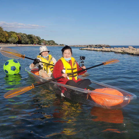 2hr Transparent Kayak rental