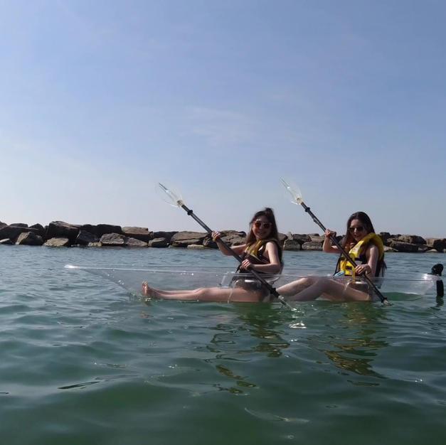 2 Hour Transparent Kayak Rental