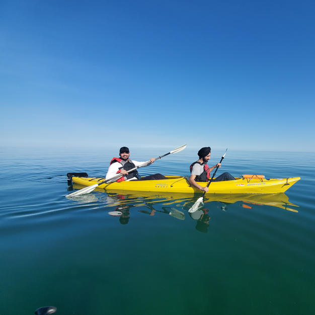 2 Hour Tandem Kayak rental