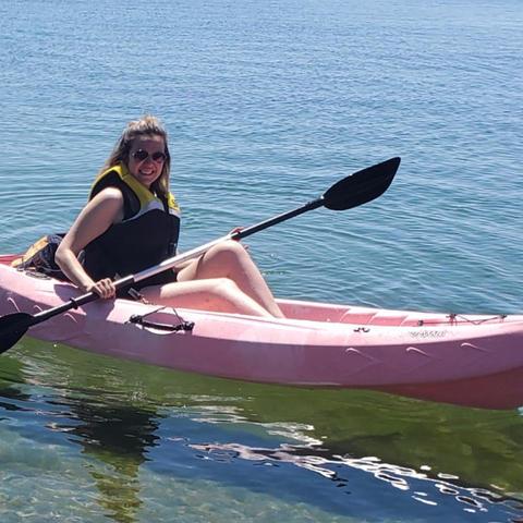 2hr Sit-On-Top Kayak rental