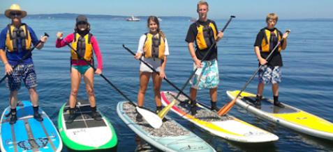 2 Hour SUP or Kayak lesson