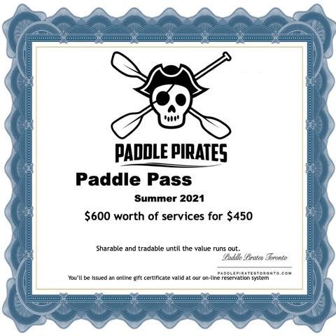Paddle Pass 2021