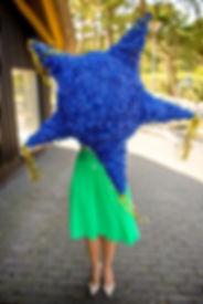 Pinjata, pinata, blue pinata, melyna pinjata, fotosesija