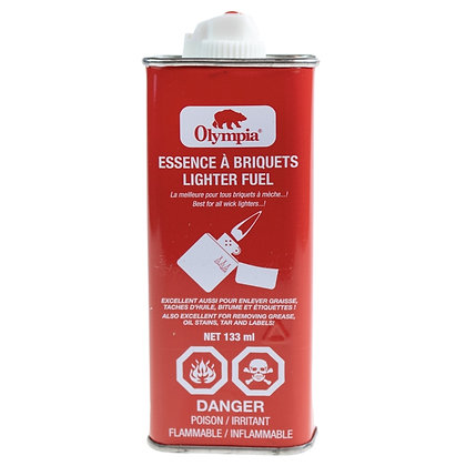 OLYMPIA - LIGHTER FLUID IN METAL CAN, 133ML