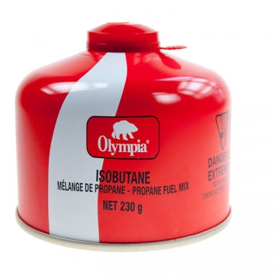 OLYMPIA - 230G ISOBUTANE / PROPANE FUEL CANISTER