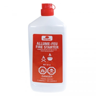 OLYMPIA - BBQ AND CAMPFIRE STARTER FLUID, 32OZ