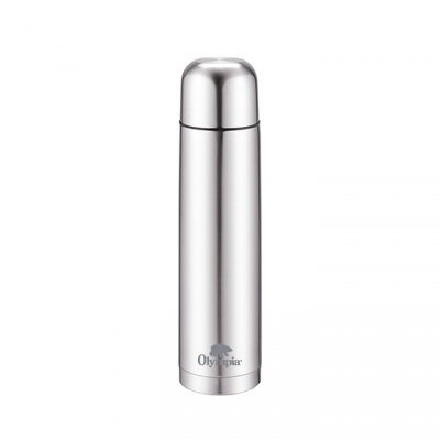 OLYMPIA - INSULATED THERMOS 500 ML SILVER