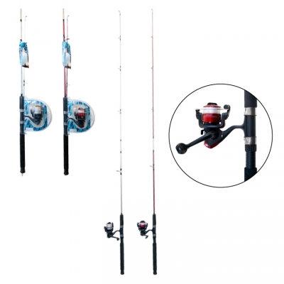 OLYMPIA - FISHING ROD, 6 FEET, 80 METER LINE