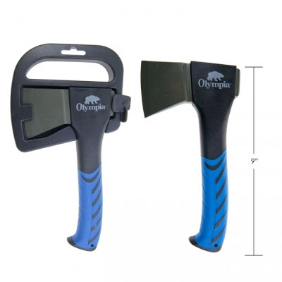 """AXE, FORGED CARBON STEEL, 9"""""""