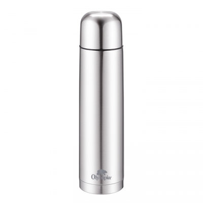 OLYMPIA - INSULATED THERMOS 1000 ML SILVER