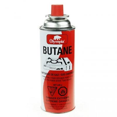 BUTANE OLYMPIA 220G FOR PORTA STOVE / HEATER