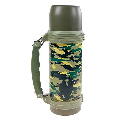 OLYMPIA - INSULATED THERMOS 750 ML, CAMOUFLAGE