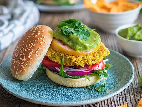 Hamburguesas de quinoa. Saludables, nutritivas y energéticas.