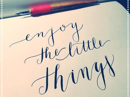 Éxito laboral - Disfrutar de las pequeñas cosas