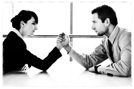 Competencia en la pareja