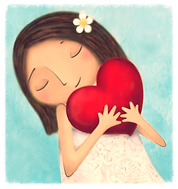 Estar en corazón Luz Boscani. Amor, espiritualidad, alma, belleza, pureza, autoestima.