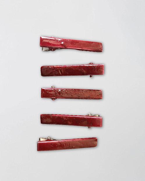 Collab Också x Le Tolentino | Hair clips pack