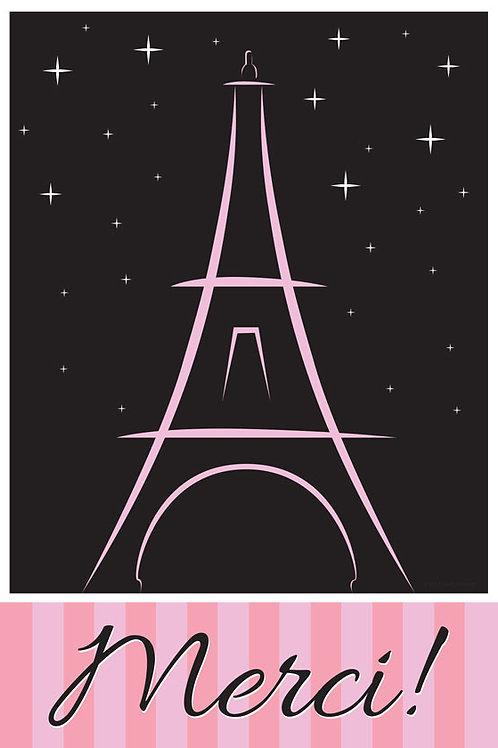 Thank You Card – Paris