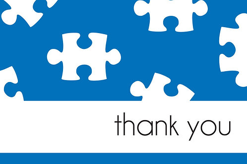 Thank You Card – Autism 4