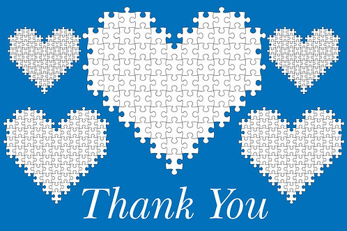 Thank You Card – Autism 16