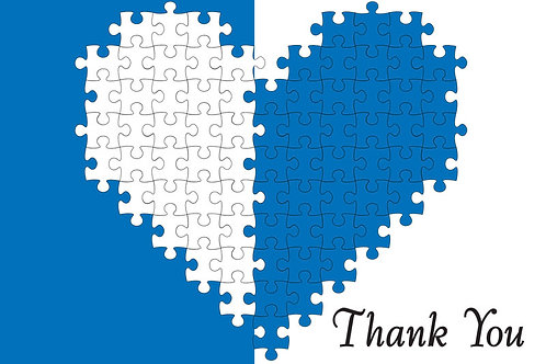 Thank You Card – Autism 15