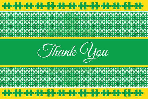 Thank You Card – Autism 9