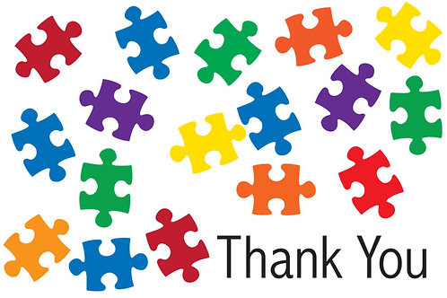 Thank You Card – Autism 2