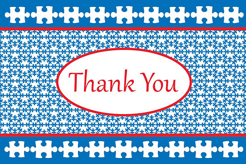 Thank You Card – Autism 8