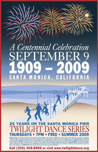 Santa Monica Twilight Dance Series Poster Competition