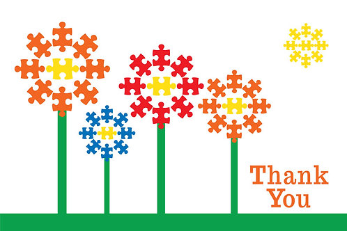 Thank You Card – Autism 5