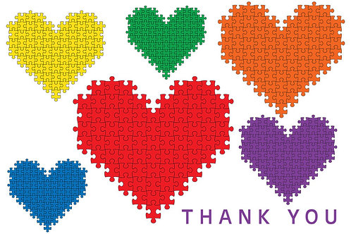 Thank You Card – Autism 18