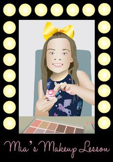 Mia's Makeup Lesson