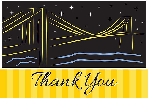 Thank You Card – Brooklyn
