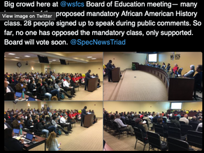 School Board of Education Votes Against African American History Class