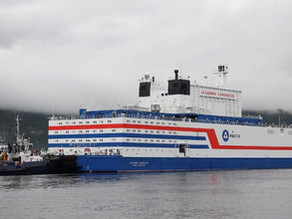 Russia floating nuclear power station sets sail across Arctic