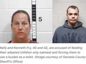 Iowa Couple Who Starved and Abused Their Black Adopted Children Get 2 Years Probation, No Jail Time